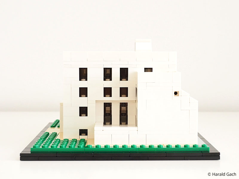 Architektur mit lego steinen architecture with lego for Modernes lego haus